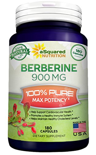 Pure-Berberine-900mg-Supplement-180-Capsules-Natural-Berberine-Hydrochloride-HCL-Plus-Max-Strength-Almost-1000mg-2x-450mg-Potent-Extract-for-Healthy-Blood-Sugar-Levels-Blood-Glucose