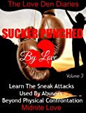 img - for Sucker Punched By Love: Learn The Sneak Attacks Used By Abusers Beyond Physical Confrontation (The Love Den Diaries) book / textbook / text book