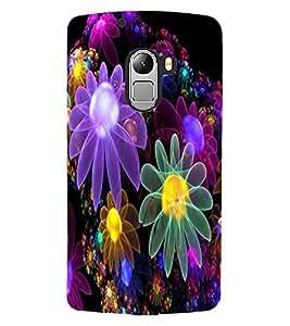 ColourCraft Beautiful Flowers Design Back Case Cover for LENOVO VIBE X3 LITE