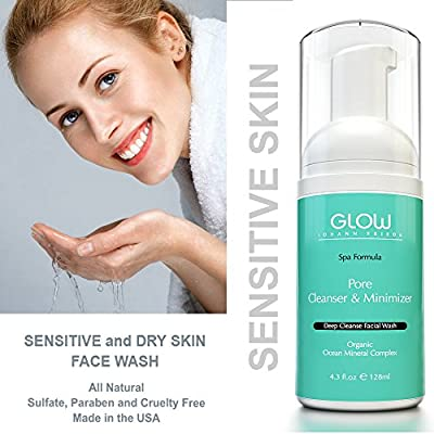 Best Cheap Deal for Facial Cleanser - Pore Minimizer, Anti Wrinkle, Anti Acne & Anti Aging Natural Foaming Face Wash - Organic Skin Care Product For Oily, Dry & Sensitive Skin - Makeup Remover Made From Aloe Vera from Honestie Naturals - Free 2 Day Shippi