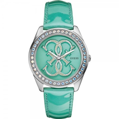 Guess W85121L2 Ladies G SPIN Turquoise Watch
