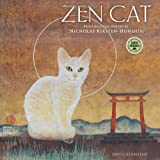 Zen Cat: Paintings and Poetry by Nicholas Kirsten-Honshin 2015 Wall Calendar
