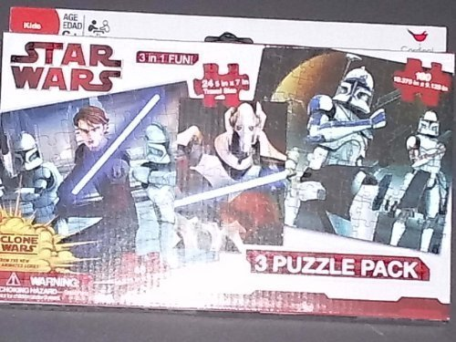 Star Wars 3 Puzzle Pack - 1
