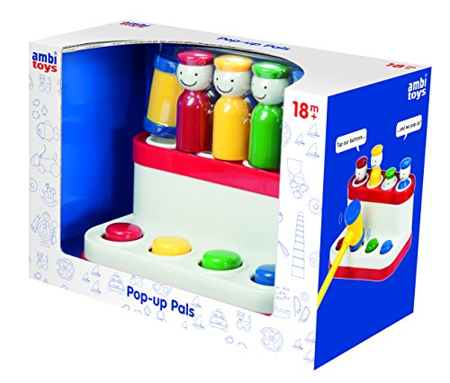 Ambi Toys Pop-Up Pals Toy - 1