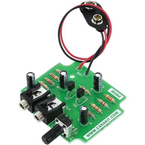 Canakit Uk494 - Dynamic Microphone Pre Amp (Assembled Module)