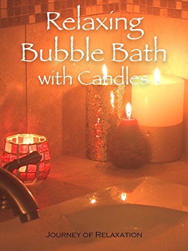 Relaxing Bubble Bath with Candles