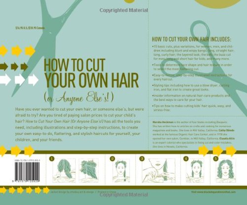 how to cut your own or anybody elses hair including the