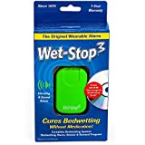 Wet-Stop3 Bedwetting (Enuresis) Alarm-Green with Sound and Vibration