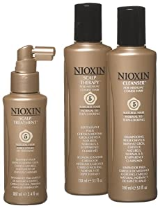 Nioxin Starter Kit, System 5 (Medium to Coarse/Untreated/Normal to Thin-Looking)