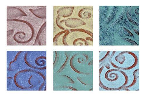 amaco-lead-free-opalescent-glaze-classroom-pack-1-pt-assorted-color-pack-of-6-by-amaco