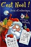 echange, troc Crismer Liliane - C'Est Noël Jeux et Coloriages