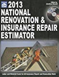 2013 National Renovation & Insurance Repair Estimator - 1572182849