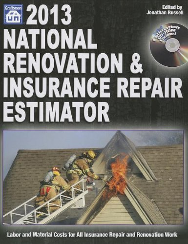 2013 National Renovation & Insurance Repair Estimator - Craftsman Book Co - 1572182849 - ISBN: 1572182849 - ISBN-13: 9781572182844