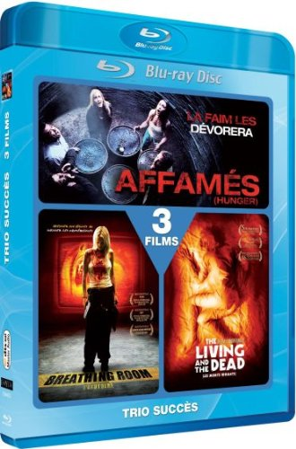 Hunger / Breathing Room / The Living and the Dead - 2-Disc Set [ Blu-Ray, Reg.A/B/C Import - France ]