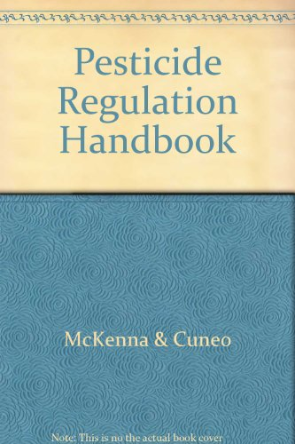 Pesticide Regulation Handbook PDF