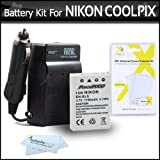 Battery And Charger Kit For Nikon
