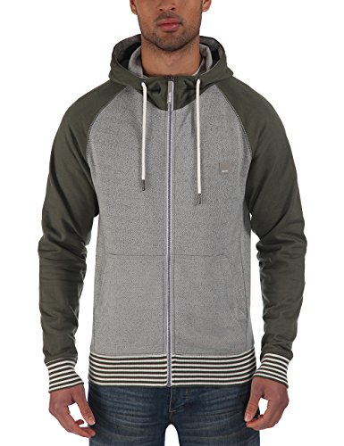 Bench - Sweatjacke Penarth, Felpa Uomo, Multicolore (Neutral Grey), X-Large (Taglia Produttore: X-Large)