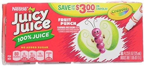 Juicy Juice Fruit Punch, 4.23 Oz, 8 Ct front-224605