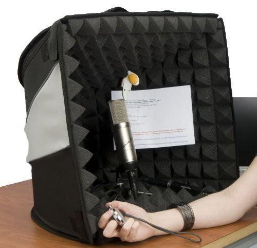 how to build a recording booth at home