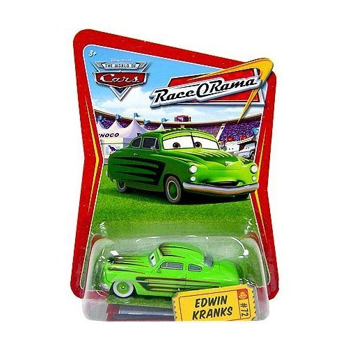 Disney / Pixar CARS Movie 1:55 Die Cast Car Race-O-Rama Series Edwin Kranks