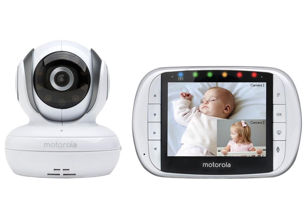 motorola mbp36s remote wireless video baby monitor with 3 5 inch. Black Bedroom Furniture Sets. Home Design Ideas