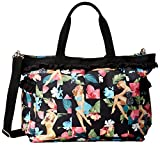 LeSportsac x Benefit Temptress Travel Tote, Lava Voom Ruffle