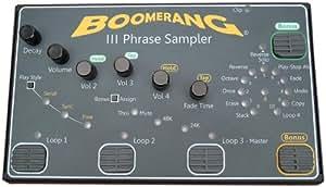 Boomerang III Phrase Sampler (E-156)