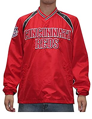 MLB CINCINNATI REDS Mens Fall / Winter Wind Breaker Jacket with Lining