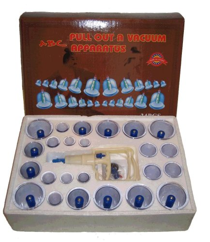 24 pcs Vakuum Cupping Set with 12 magnetic heads, Acupunkture therapy