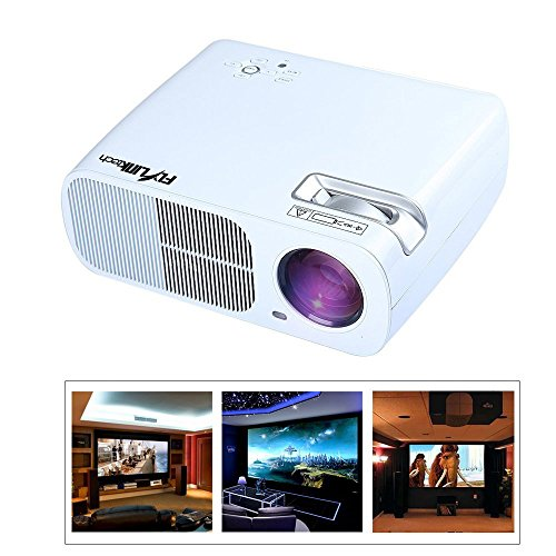 Home theater projector hd led video 2600 lumens mini for Mini projector for ipad best buy
