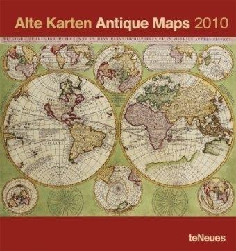 2010 Antique Maps Poster Calendar