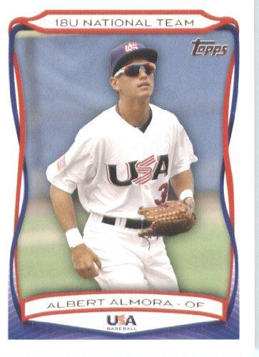Buy 2010 Topps TEAM USA Baseball Card # USA-1 Albert Almora (Prospect Rookie) 18U National Team Trading... by Team USA