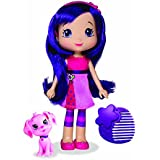 The Bridge Direct, Strawberry Shortcake, Berry Best Friend Doll, Cherry Jam and CinnaPup, 6 Inches