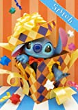 Disney Amazing 3D Birthday Greeting Card Postcard - Collectible Stitch Gift Box 3D Birthday Card -