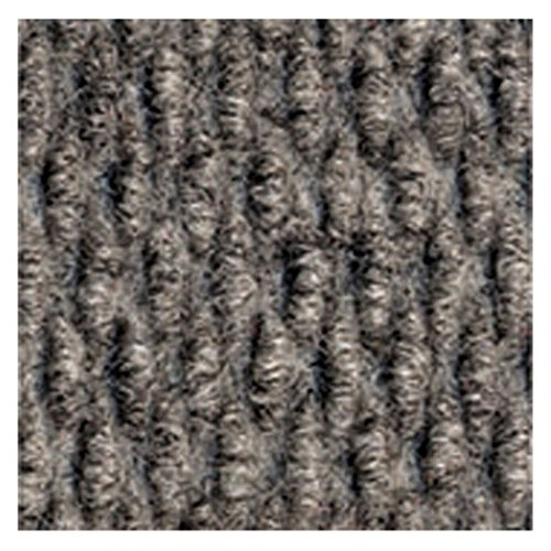 Apache Duro Rib Commercial Mat - Solid Gray