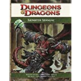 Monster Manual: A 4th Edition Core Rulebook (D&d Core Rulebook) (Dungeons & Dragons)by Wizards RPG Team