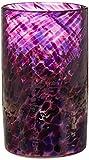 Blowing Sands Glass Studio Purple Confetti Votive/Drinking Glass