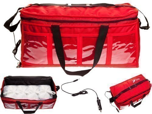 12V Large Heated Indian Chinese Take Away Hot Food Insulated Delivery Bag Black Friday & Cyber Monday 2014