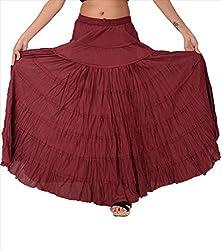 SNS Pure Cotton Long Maxi Skirt