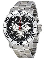 """TW Steel Men's TW70 """"Grandeur Divers"""" Black Watch"""