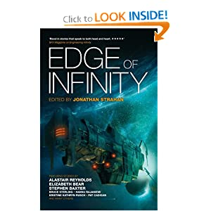 Edge of Infinity by Alastair Reynolds, Stephen Baxter and Jonathan Strahan