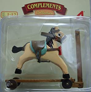 Artisania latina dolls house rocking horse and scooter for Scooter rocking horse
