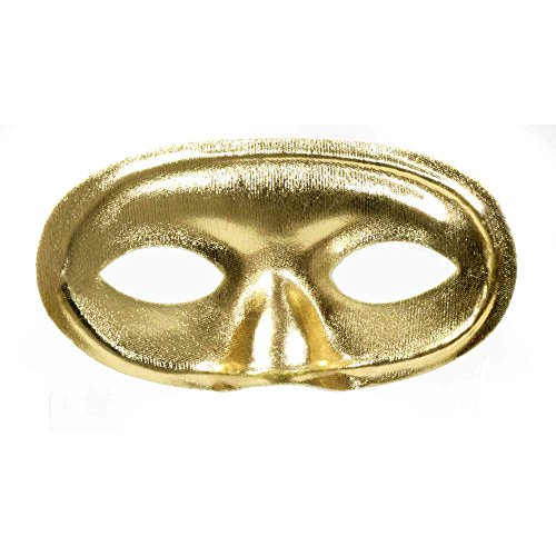 Gold Masquerade Domino Mask