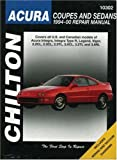 img - for Acura Coupes and Sedans, 1994-00 (Chilton's Total Car Care Repair Manual) book / textbook / text book