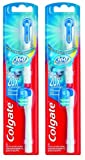 Colgate Refill for Battery-Powered Actibrush Toothbrush 360° Pack of 2x2