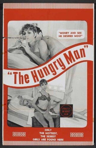 the-hungry-man-poster-11-x-17-inches-28cm-x-44cm-1970-style-a