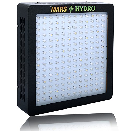 [Pack of 2]MarsHydro MARSII 900 Led Grow Light Full Spectrum High Penentration Led Grow Lamp the 420W True Watt Lamp for Indoor Greenhouse/Garden Light & Lighting with Dual Veg/Flower Spectrum (Lg Range Hood 30 compare prices)