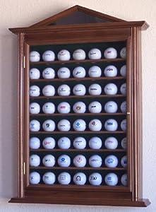 63 Golf Ball Designer Display Case Cabinet Holder Wall Rack by sfDisplay