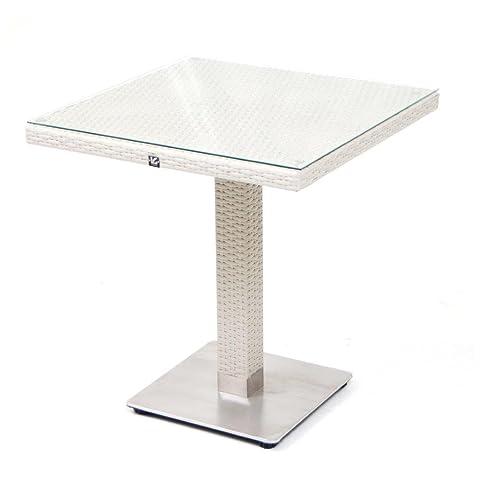 Tavolo Minorca 70X70 Cm Bianco
