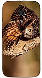 Timpax protective Armor Hard Bumper Back Case Cover. Multicolor printed on 3 Dimensional case with latest & finest graphic design art. Compatible with Motorola Moto -G-2 (2nd Gen )Design No : TDZ-27624